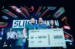 We won 3rd place at the SLUSH Shanghai 2017 Pitch Competition on October 13th, 2017.